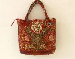 Multicolor Embroidered Shoulder Bag