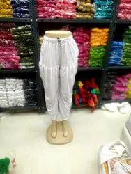 Polyester Balloon Pants Ladies Plain Dhoti, Waist Size: Free Size