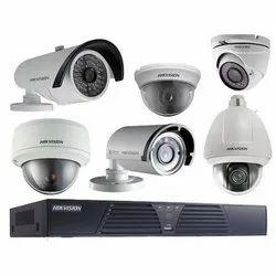 Analog Camera CCTV   System, 15 To 20 M