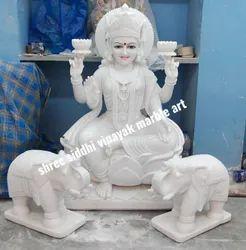 Laxmi Statue Marble