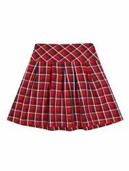 Cotton Casual Wear Kids Skirts, Age: Up To 10 Year