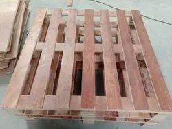 Open Face Rectangular Plywood Pallet, For Packaging, Capacity: 500