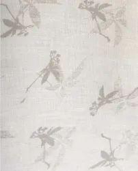 Gray 40 Lea Printed Linen Fabrics, GSM: 150 GSM