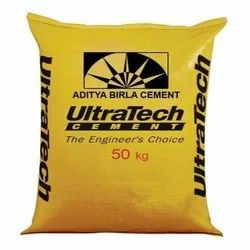Ultratech Portland Pozzolana Cement, Packaging Size: Bag 50 Kg, Grade: Ppc