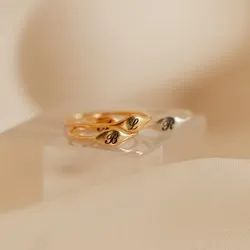 Initial Ring Letter Ring