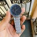 Analog Silver Fossil Watches For Men, Size: 35