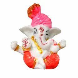Pagri Ganesha Car Dash Board Statue