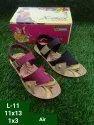 Xerox Casual Wear Girls Velcro Pvc Sandal, Size: 11