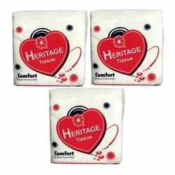 Heritage Napkin Paper Soft Dotted Napkin, Packet