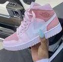 Pink Sneaker Nike Air Jordan 1 Retro High Og For Causal