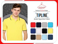 Pikmee Cotton Double Tipped Polo T-Shirts