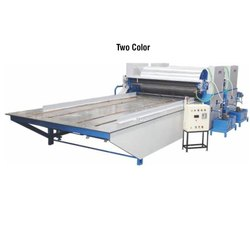 Two Color Flexo Paper Cum Board Printing Machine