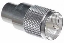 UHF Male Crimp Connector For LMR400 Coax Cable