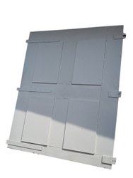 Gray Hinged PUF Insulated Door, For Hospital, Size/Dimension: 4x7 Feet