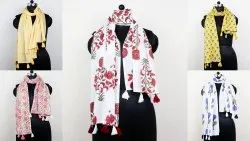 Hand Block Printed Scarf Stole