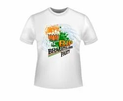 Local Polyester Election Campaign T Shirt Ghaziabad