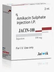 Amikacin-100 mg Inj