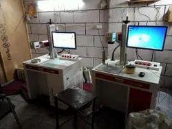 Colour MOPA Laser Marking Machine for Aldrop/Handle/Utensils