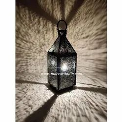 Maccart India Mild Steel Home Decor Wide Reflection Table And Floor Led Pendant Lamp