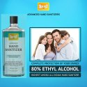 Safety Net Ethyl Alcohol Based Hand Sanitizers (80% Ethyl Alcohol) 500 Ml( Pack Of 1)