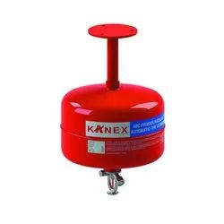 Dry Powder Type Kanex Automatic Modular Fire Extinguisher, For Industrial Use, Capacity: 5 Kg