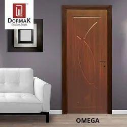 Cnc Routed DORMAK OMEGA MEMBRANE DESIGNER DOOR, Door Thickness: 30, Door Height: 84