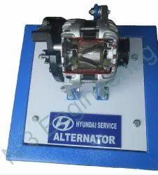 Alternator Cut Section Model
