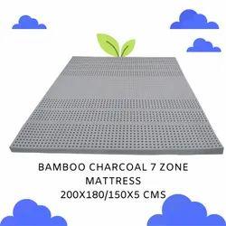 Euro Latex Foam Bamboo Charcoal 7 Zone Mattress, Size/Dimension: 200 X 180 Cms, Thickness: 2 Mm