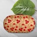 Machine Embroidery Ethnic Clutch
