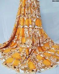 Refreshing Look Twill Silk Digital Print Fabric