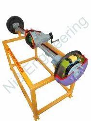 Cut Section Model Of Rear Axle