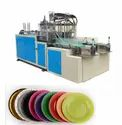 Four Roll Paper Plate Making Machine