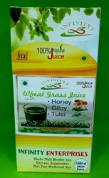 Wheatgrass Juice With Honey