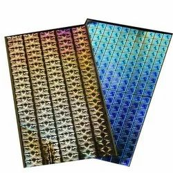Holographic Pvc Security Hologram Stickers, Packaging Type: Box