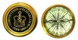 Tora 2.5 Brass Crown Compass