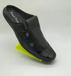 Mens Leather Slipper