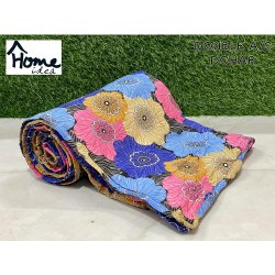 Printed Flower Double Bed AC Dohar Blanket