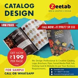 2-7 Days Catalog Design for Product & Service