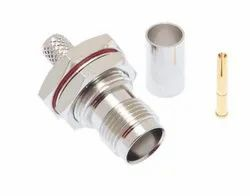TNC Female RF Coax Connector For LMR200 Low Loss Cable