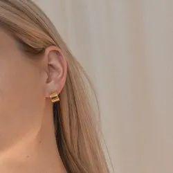Bold Huggie Earrings