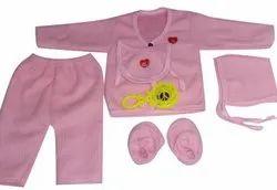 Woolen Gender: Girls Newborn Girl Baby Dress Woolan 6pis set