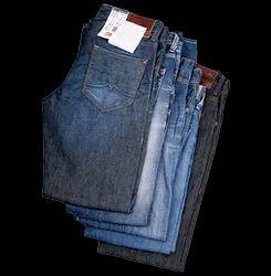 Cotton Plain Men Jeans, Waist Size: 32
