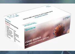 Trivitron COVID KAVACH Anti-SARS CoV-2 Human IgG ELISA Kit, ICMR Approved