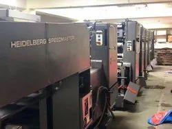 Used Heidelberg Speedmaster 72+F+L