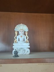 Marble Parshwanath Statue