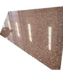 Polished Rosy Pink Granite Slabs, For Flooring, Thickness: 15