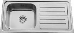 Single Bowl Drain Modular Kitchen Sink