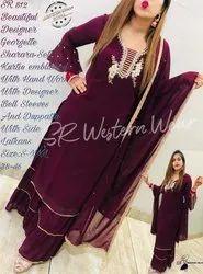 Ladies Designer Sharara Set