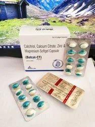 Calcitriol Calcium Citrate Zinc And Magnesium Softgel Capsules