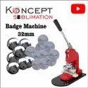 Button Badge Machine 25mm, 32mm